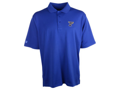 St. Louis Blues NHL Pique Xtra Lite Polo