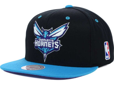 Charlotte Hornets Mitchell and Ness NBA Undertime Snapback Cap