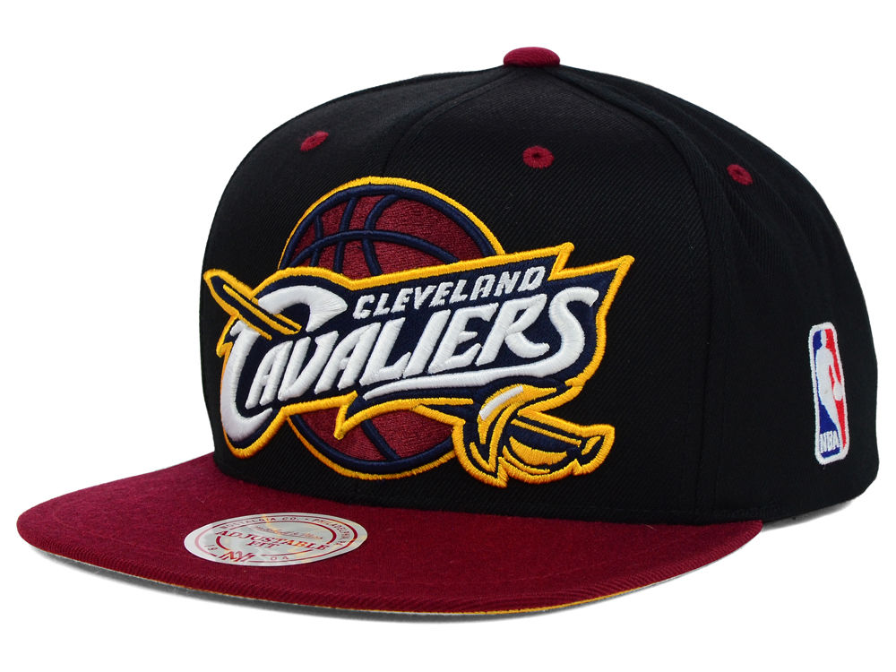 on sale d6777 1d10d ... Cleveland Cavaliers Mitchell Ness NBA Undertime Snapback Cap ...