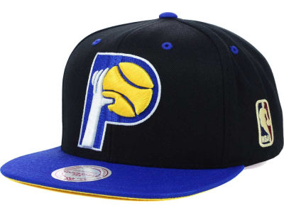 Indiana Pacers Mitchell and Ness NBA Undertime Snapback Cap