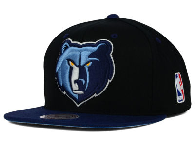 Memphis Grizzlies Mitchell and Ness NBA Undertime Snapback Cap