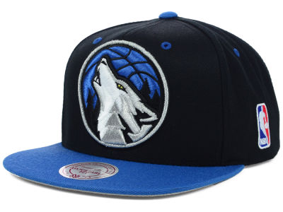 Minnesota Timberwolves Mitchell and Ness NBA Undertime Snapback Cap