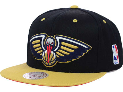 New Orleans Pelicans Mitchell and Ness NBA Undertime Snapback Cap