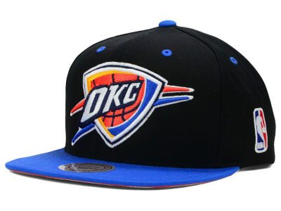 Oklahoma City Thunder Mitchell and Ness NBA Undertime Snapback Cap