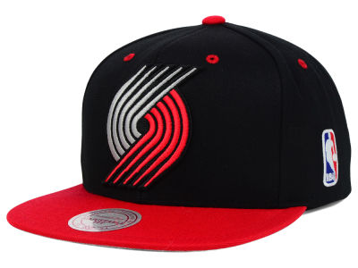 Portland Trail Blazers Mitchell and Ness NBA Undertime Snapback Cap