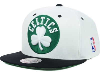 Boston Celtics Mitchell and Ness NBA Undertime Snapback Cap