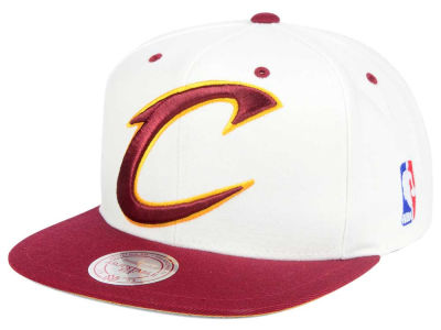 Cleveland Cavaliers Mitchell and Ness NBA Undertime Snapback Cap
