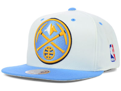 Denver Nuggets Mitchell and Ness NBA Undertime Snapback Cap