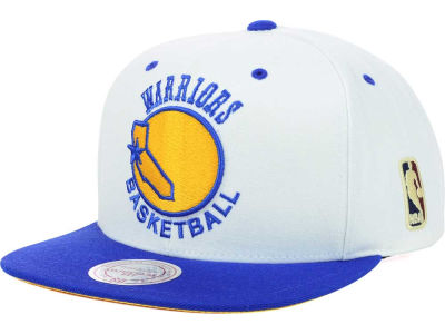 Golden State Warriors Mitchell and Ness NBA Undertime Snapback Cap