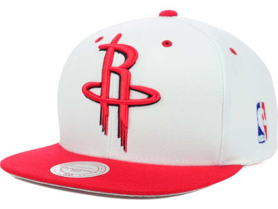 Houston Rockets Mitchell and Ness NBA Undertime Snapback Cap