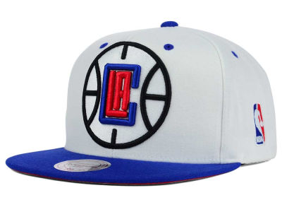 Los Angeles Clippers Mitchell and Ness NBA Undertime Snapback Cap