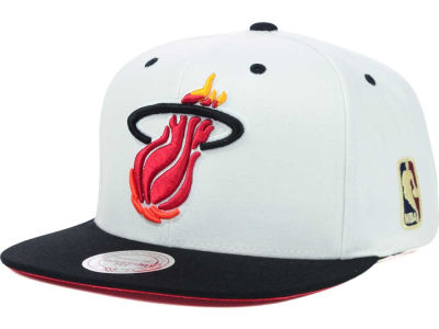 Miami Heat Mitchell & Ness NBA Undertime Snapback Cap