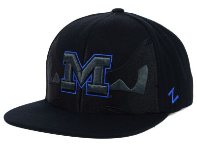 Michigan Wolverines Zephyr NCAA Covert Snapback Cap