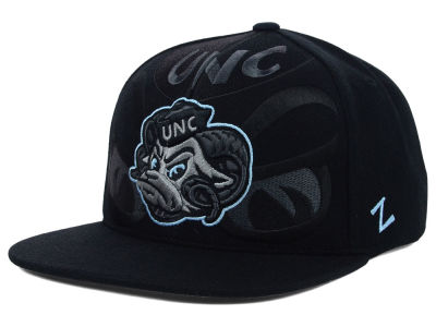 North Carolina Tar Heels Zephyr NCAA Covert Snapback Cap