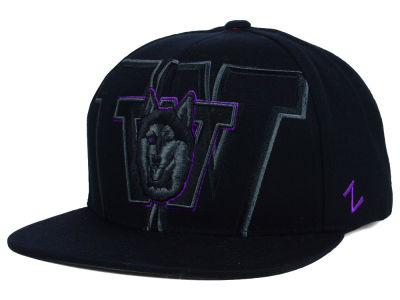 Washington Huskies Zephyr NCAA Covert Snapback Cap