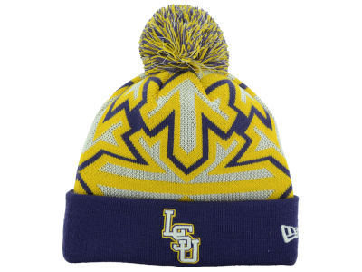 LSU Tigers New Era NCAA Glowflake Knit