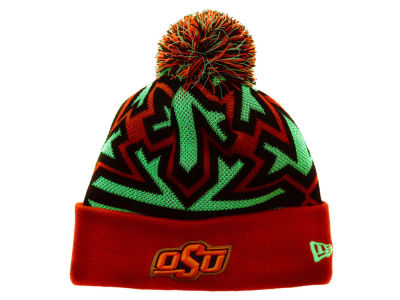 Oklahoma State Cowboys New Era NCAA Glowflake Knit