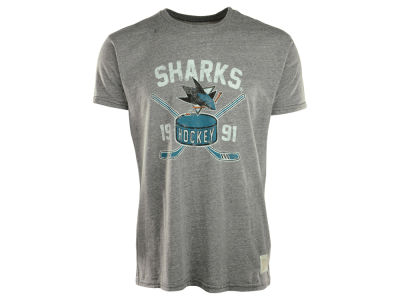 San Jose Sharks NHL Triblend Streaky T-Shirt