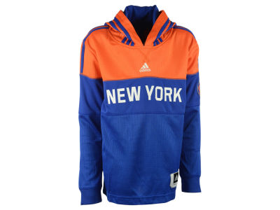 New York Knicks NBA Youth On Court Hooded Shooter Shirt