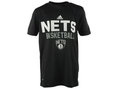 Brooklyn Nets NBA Youth Beta Rays Climalite T-Shirt