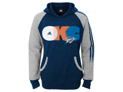 Oklahoma City Thunder NBA Youth Girls Hoop Replay Raglan Hoodie