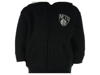 Brooklyn Nets NBA Infant Prime Full Zip Hoodie
