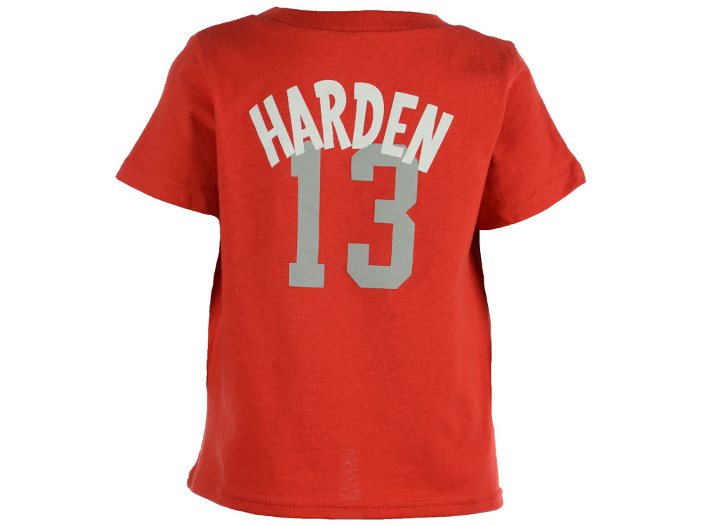 Houston Rockets James Harden NBA Infant Whirlwind Player T Shirt