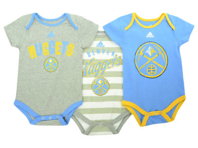 Denver Nuggets NBA Newborn 3 Point Play Creeper Set