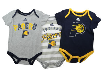 Indiana Pacers NBA Newborn 3 Point Play Creeper Set