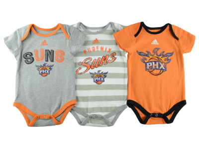 Phoenix Suns NBA Newborn 3 Point Play Creeper Set