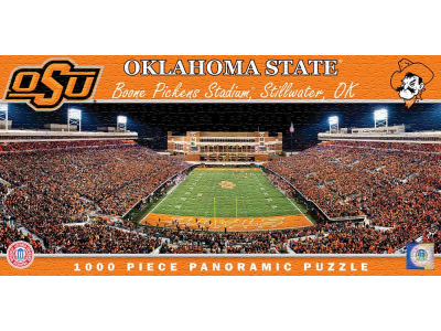 Oklahoma State Cowboys Panoramic Stadium Puzzle