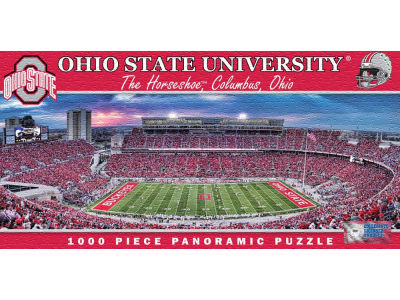 Ohio State Buckeyes Panoramic Stadium Puzzle