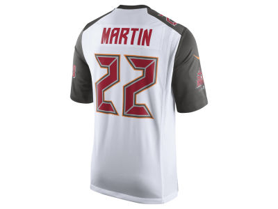 Tampa Bay Buccaneers Doug Martin Nike NFL Men's Game Jersey
