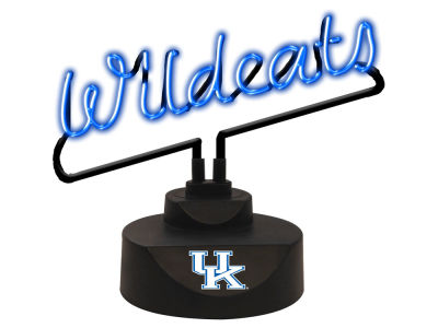 Kentucky Wildcats Script Neon Desk Lamp