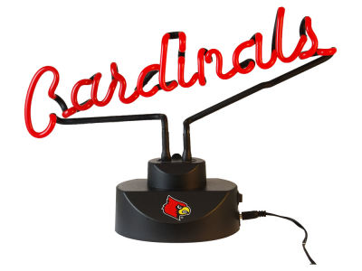 Louisville Cardinals Script Neon Desk Lamp