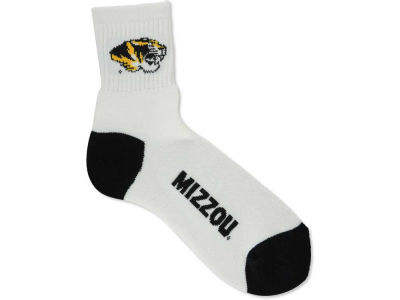Missouri Tigers For Bare Feet Ankle White 501 Sock