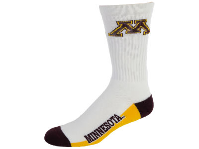 Minnesota Golden Gophers Crew White 506 Sock