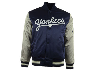 New York Yankees MLB Men's Authentic Satin Jacket