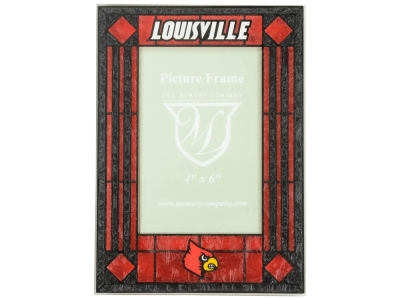 Louisville Cardinals Vertical Frame