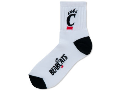 Cincinnati Bearcats Ankle White 501 Sock