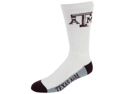 Texas A&M Aggies Crew White 506 Sock