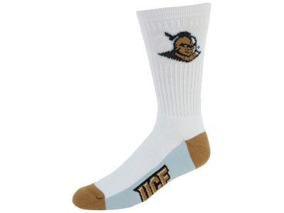 University of Central Florida Knights Crew White 506 Sock