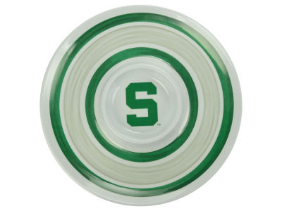 Michigan State Spartans Ceramic Chip & Dip