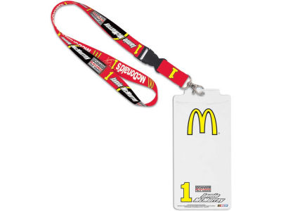 Jamie McMurray Credential Holder With Lanyard