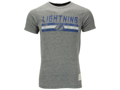 Tampa Bay Lightning NHL Triblend Streaky T-Shirt