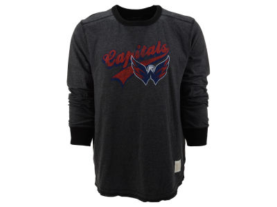 Washington Capitals NHL Long Sleeve Deconstructed Crew Sweatshirt