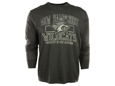 New Hampshire Wildcats NCAA Stacked Long Sleeve Scrum T-Shirt