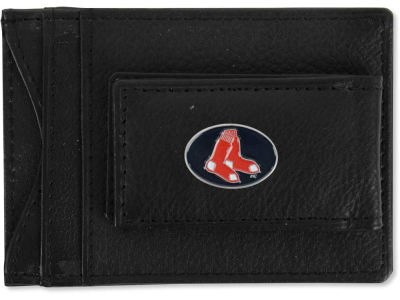Boston Red Sox Leather Magnetic Money Clip