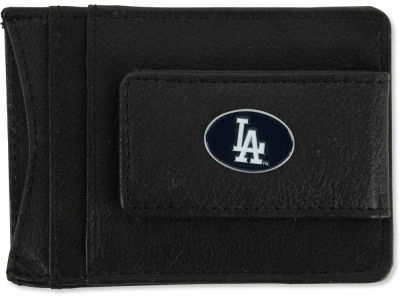 Los Angeles Dodgers Leather Magnetic Money Clip