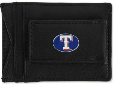 Texas Rangers Leather Magnetic Money Clip